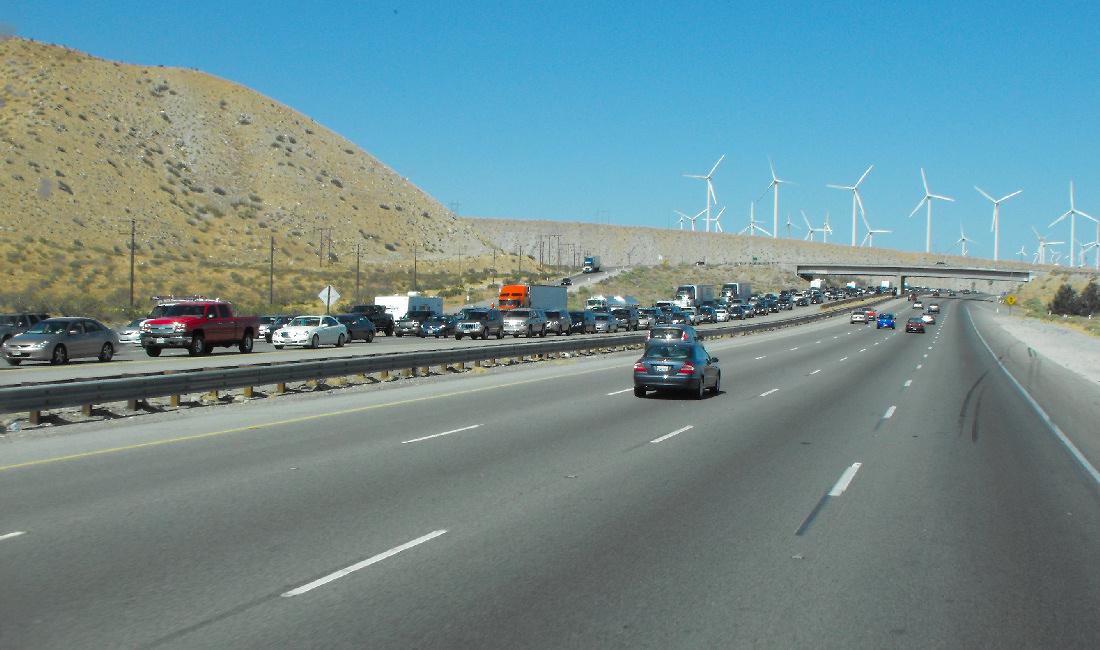 Poor SOBs heading west to LA